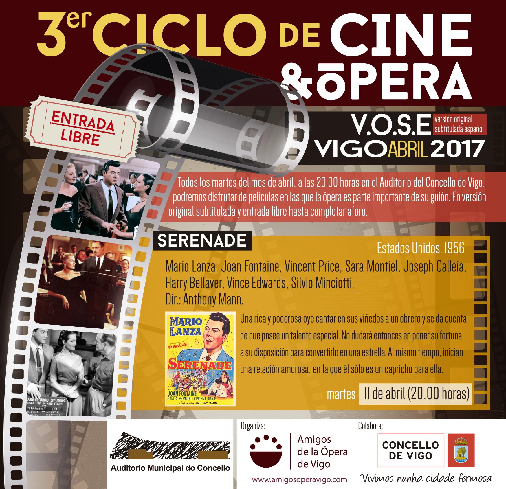 Segunda Película. 3er Ciclo de Cine y Ópera