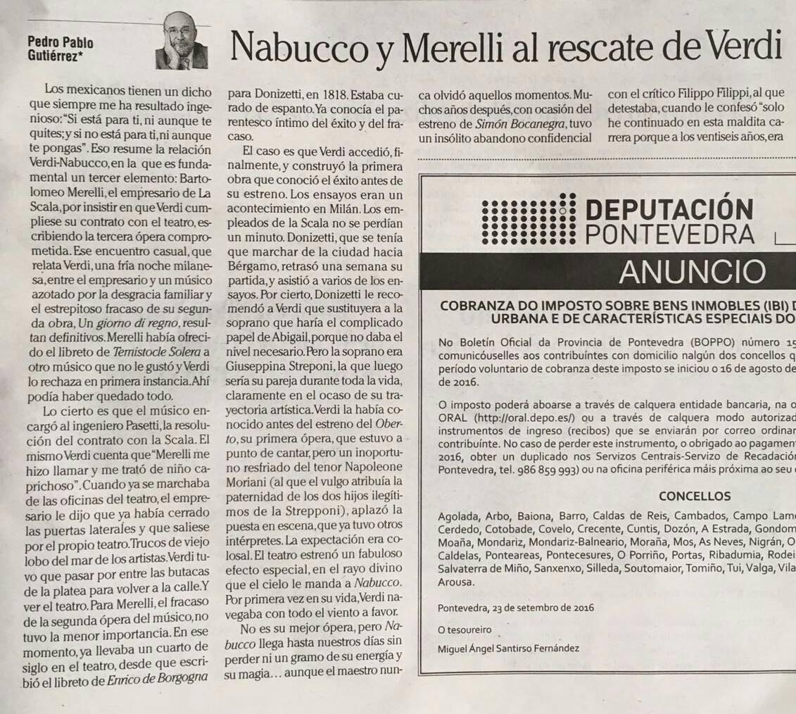 Nabucco y Merelli al rescate de Verdi