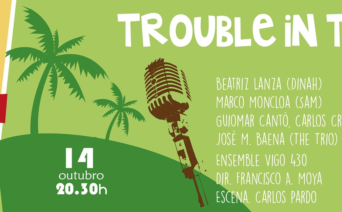 La Voz de Galicia. Trouble in Tahiti acerca la ópera según Leonard Bernstein