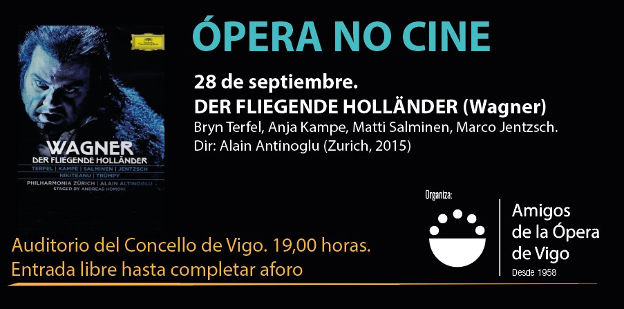Ópera no Cine. DER FLIEGENDE HOLLÄNDER (el Holandés Errante) de Wagner
