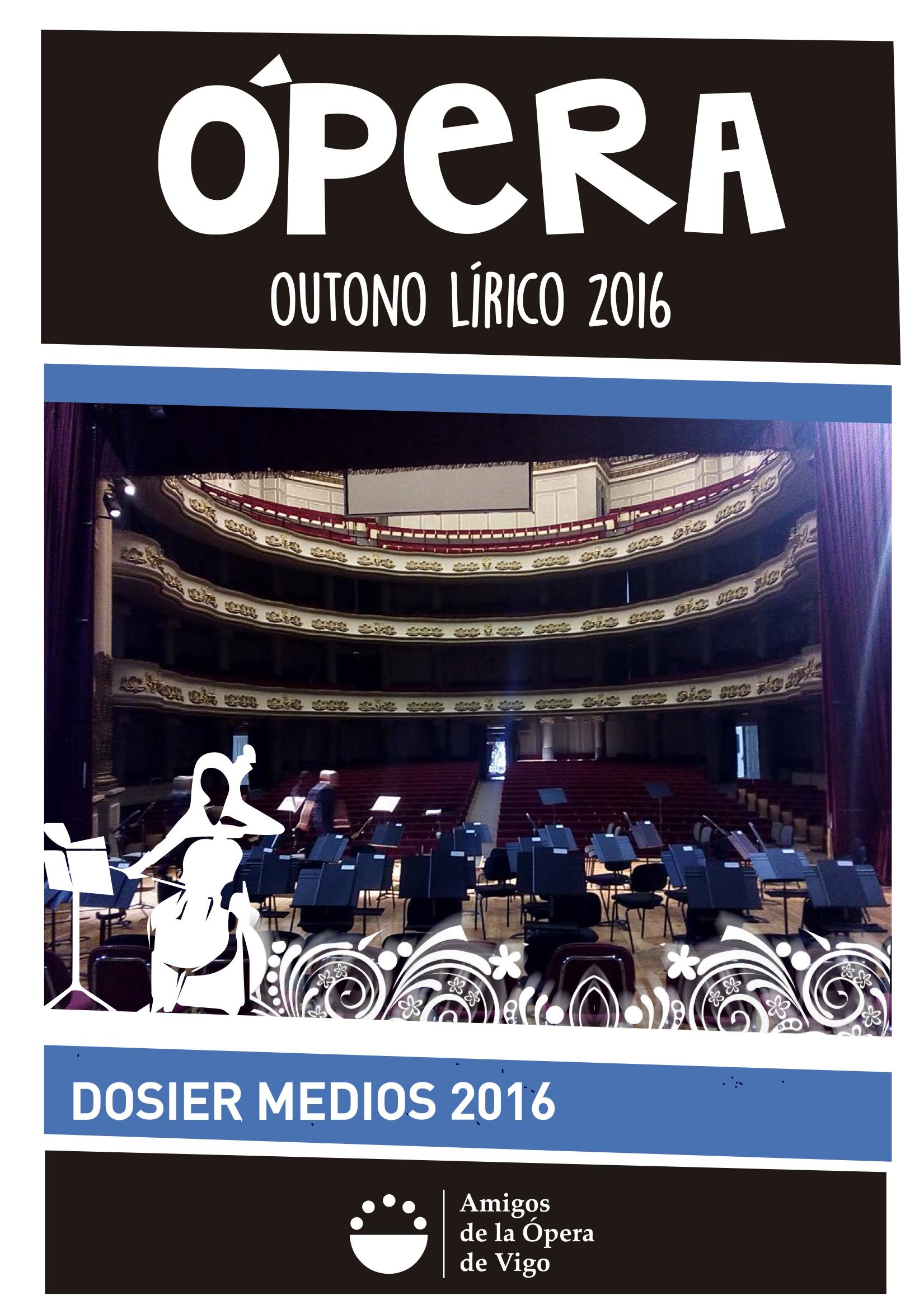 Dosier Actividades y Prensa temporada 2016
