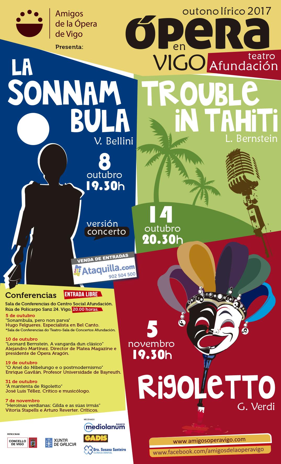 Opera World.Avance del Outono Lírico de la Asociación de Amigos de la Ópera de Vigo