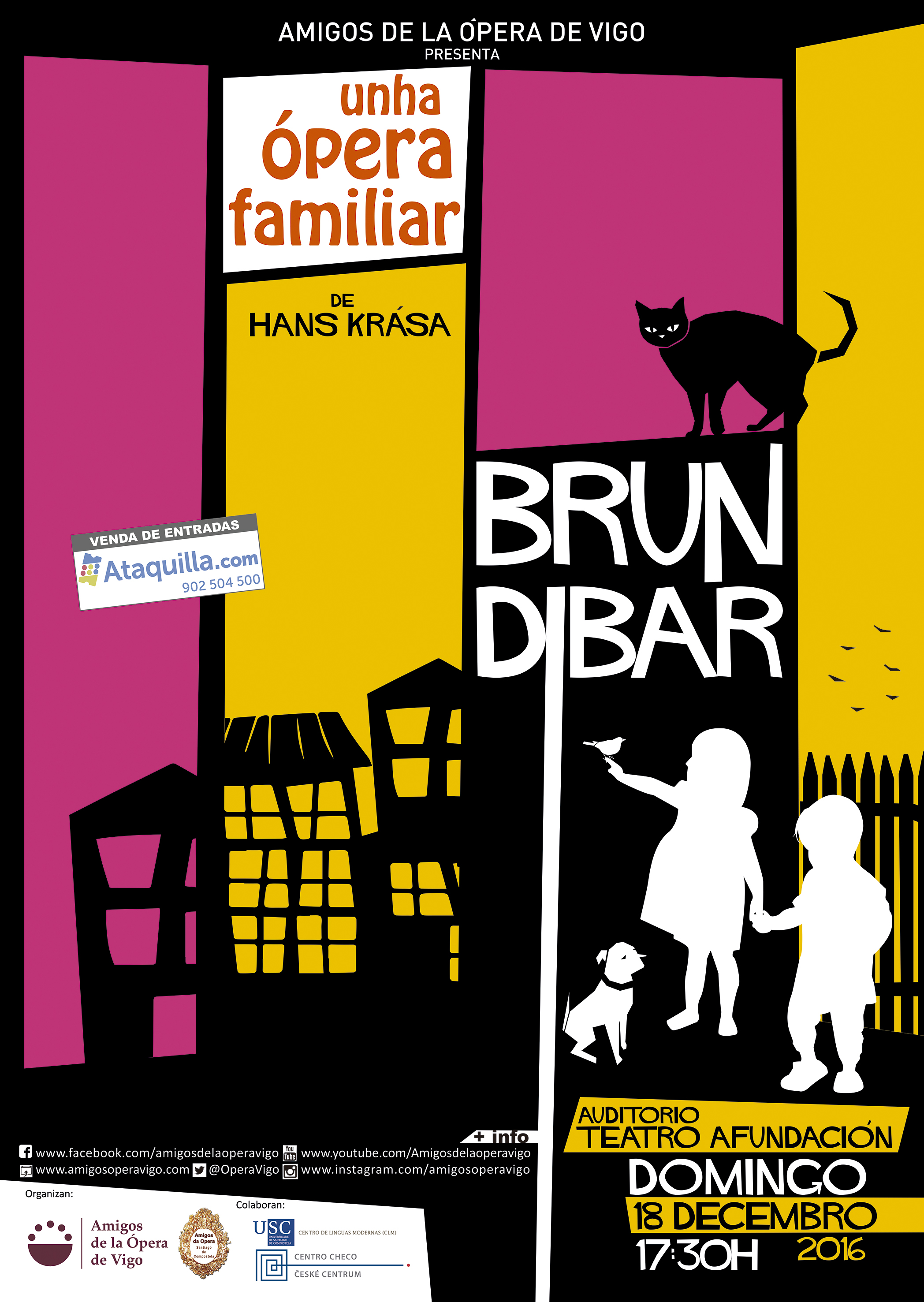 BRUNDIBÁR. Una Ópera Familiar de Hans Krása
