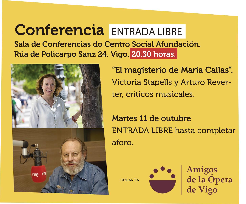 """""""El magisterio de María Callas""""."""