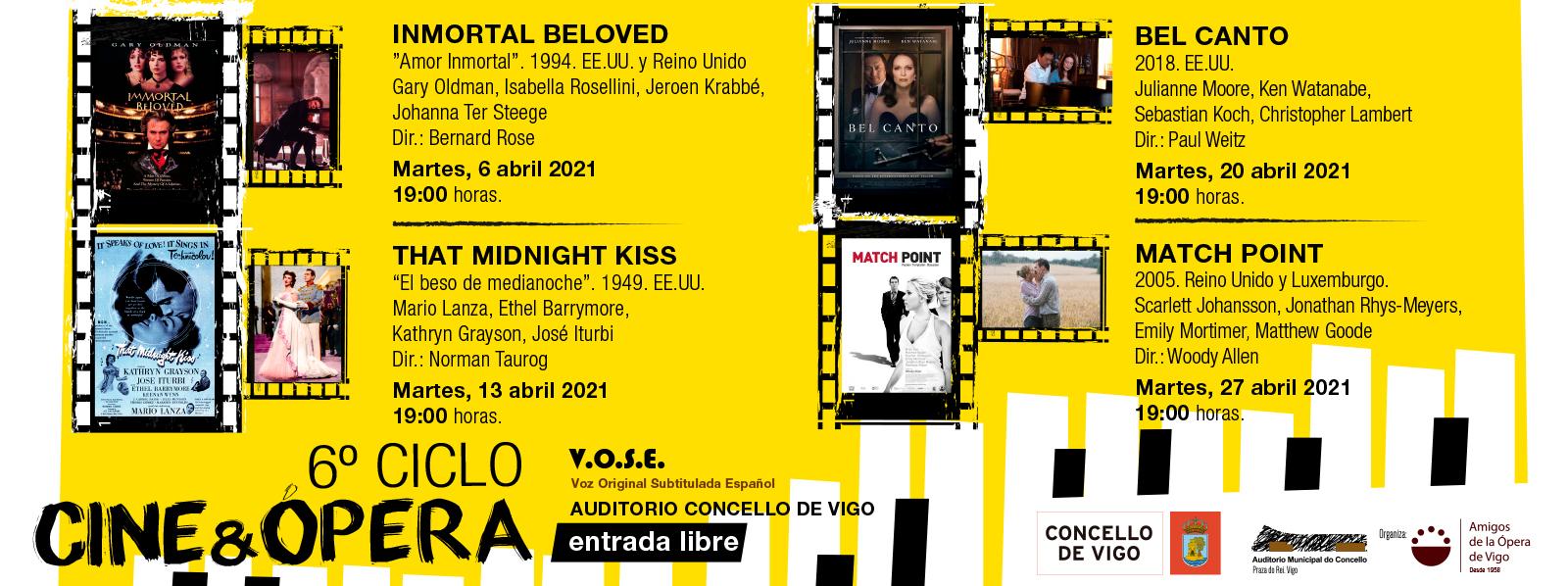 6º Ciclo Cine y Ópera