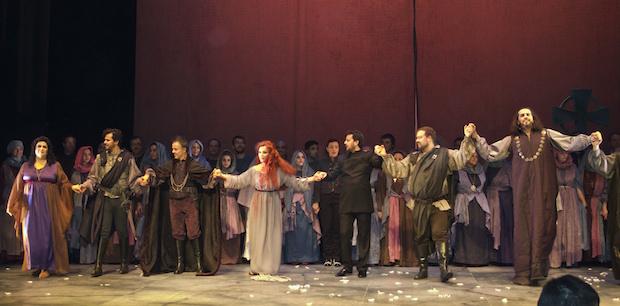 Crítica realizada por Ópera World. Lucia di Lammermoor