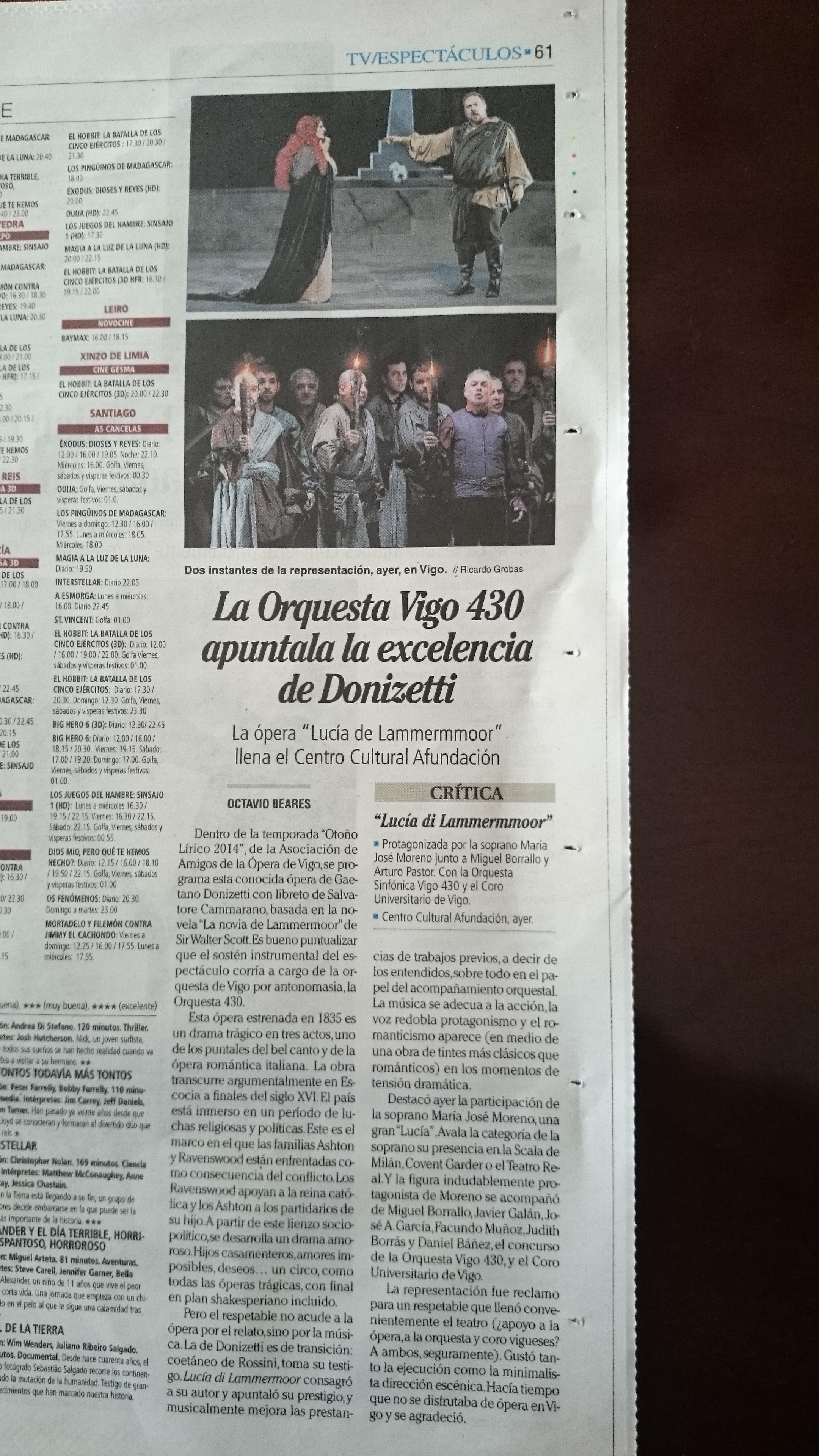 Crónica Faro de Vigo
