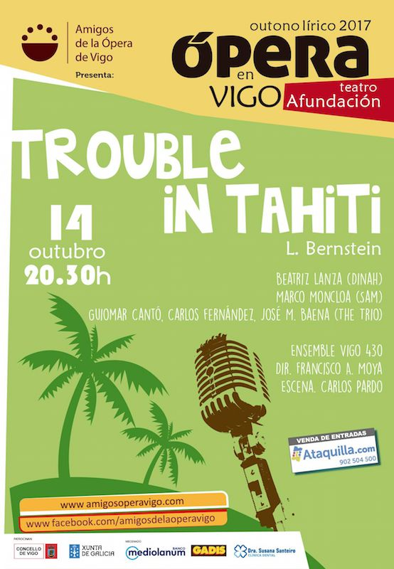 Platea Magazine. Trouble in Tahiti